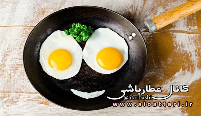 پخت و پز تخم مرغ