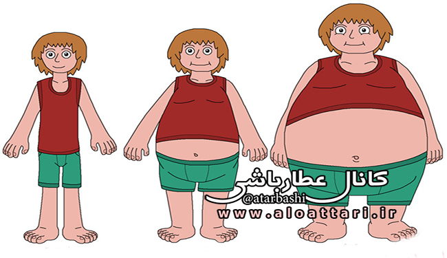 چاقی و افزایش وزن با راهکارهای طب سنتی