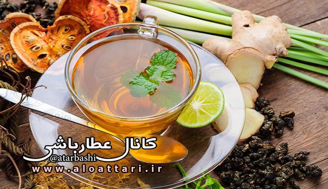چای گیاهی بنوشید تا سالم بمانید