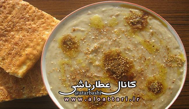 طرز تهیه حلیم شیر خامه - مجله سلامتی عطارباشی