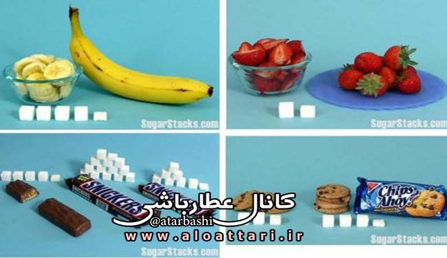 قند میوه ها در مقابل قند مصنوعی - مجله سلامتی عطارباشی