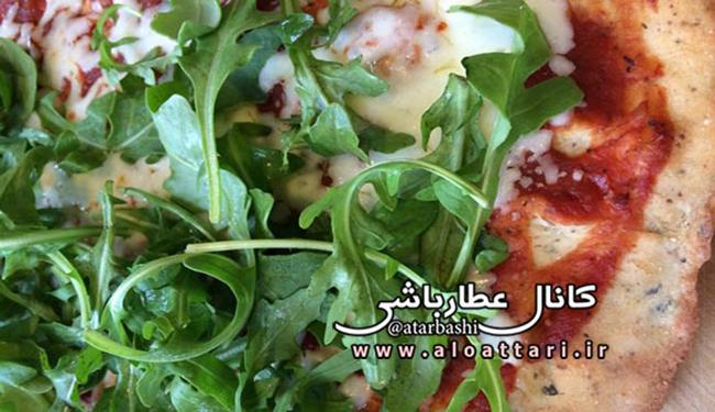 طرز تهیه پیتزای خانگی بدون گلوتن