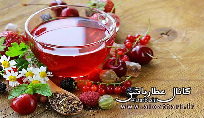 چای میوه ای