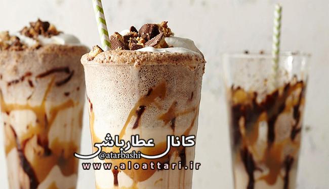طرز تهیه میلک شیک شکلاتی - مجله سلامتی عطارباشی