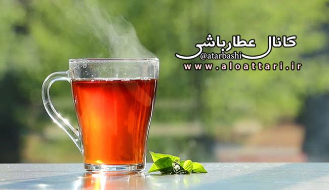 دم کردن چای