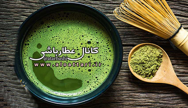 لته چای سبز